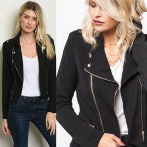 Jackets & Coats - 🆕️ 6 HOURS PRICE  DROPBlack Long Sleeve Open Fron